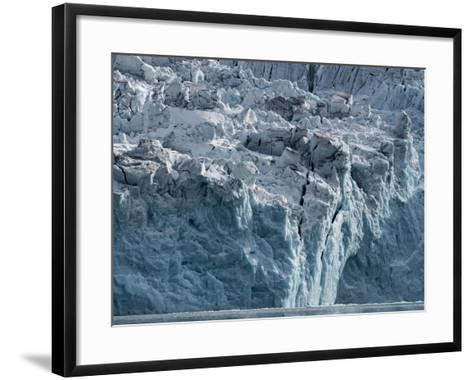 Arctic Ocean, Norway, Svalbard. Glacier Face-Jaynes Gallery-Framed Art Print