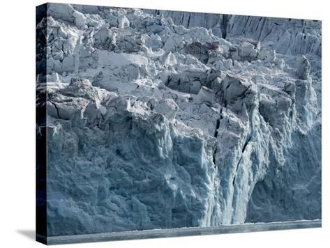 Arctic Ocean, Norway, Svalbard. Glacier Face-Jaynes Gallery-Stretched Canvas Print