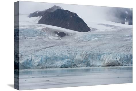 Norway, Barents Sea, Svalbard, Spitsbergen, Lilliehook Glacier-Cindy Miller Hopkins-Stretched Canvas Print