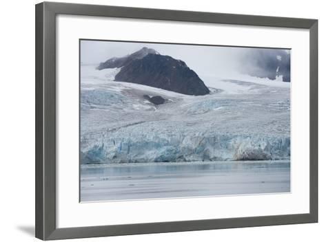 Norway, Barents Sea, Svalbard, Spitsbergen, Lilliehook Glacier-Cindy Miller Hopkins-Framed Art Print