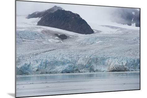Norway, Barents Sea, Svalbard, Spitsbergen, Lilliehook Glacier-Cindy Miller Hopkins-Mounted Photographic Print