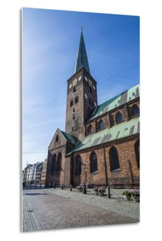 Aarhus Cathedral, Denmark-Michael Runkel-Metal Print