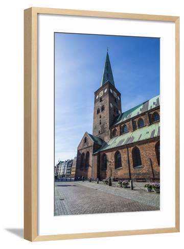 Aarhus Cathedral, Denmark-Michael Runkel-Framed Art Print