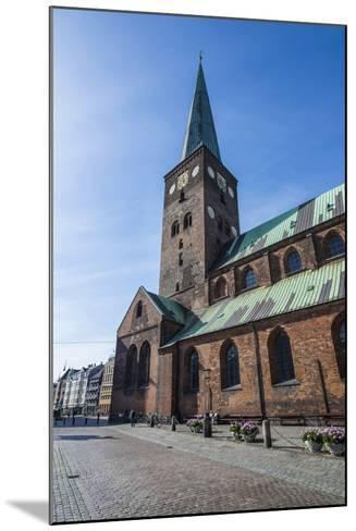 Aarhus Cathedral, Denmark-Michael Runkel-Mounted Photographic Print