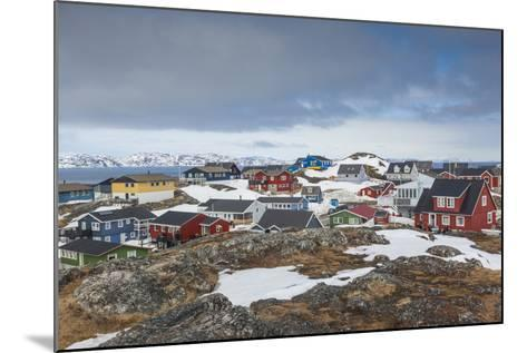 Greenland, Nuuk, Kolonihavn Area, Residential Houses-Walter Bibikow-Mounted Photographic Print