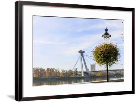 Bridge. Bratislava. Slovakia-Tom Norring-Framed Art Print