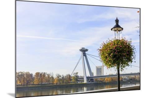 Bridge. Bratislava. Slovakia-Tom Norring-Mounted Photographic Print