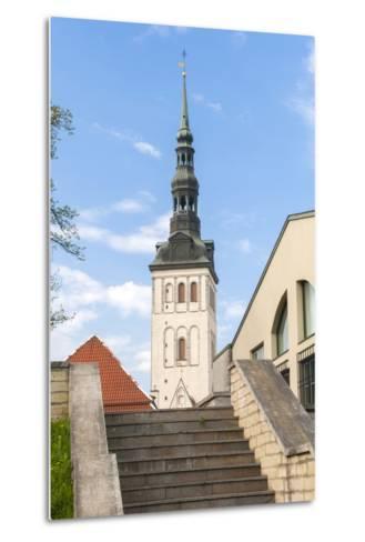 Church of St. Nikolas, Tallinn, Estonia, Baltic States-Nico Tondini-Metal Print