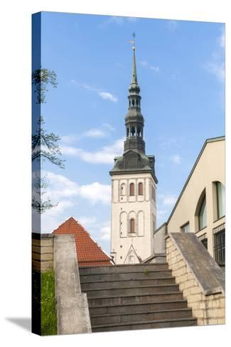 Church of St. Nikolas, Tallinn, Estonia, Baltic States-Nico Tondini-Stretched Canvas Print