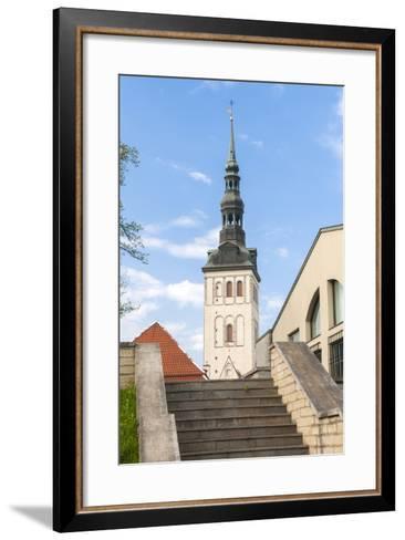 Church of St. Nikolas, Tallinn, Estonia, Baltic States-Nico Tondini-Framed Art Print