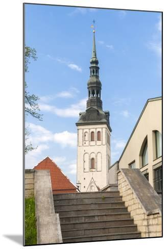 Church of St. Nikolas, Tallinn, Estonia, Baltic States-Nico Tondini-Mounted Photographic Print