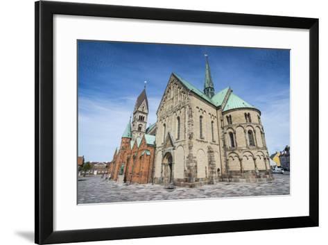 Our Lady Maria Cathedral, Ribe, Jutland, Denmark-Michael Runkel-Framed Art Print