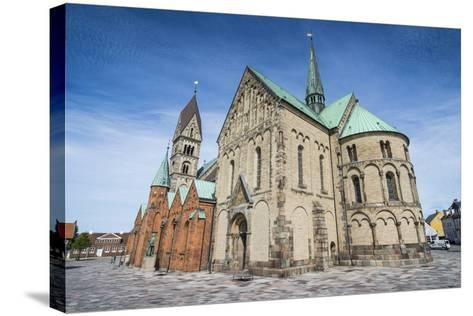 Our Lady Maria Cathedral, Ribe, Jutland, Denmark-Michael Runkel-Stretched Canvas Print