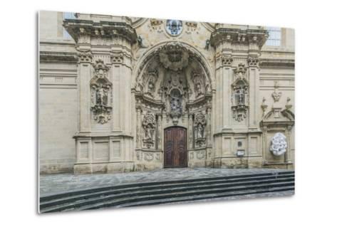 Spain, San Sebastian, Basilica of Saint Mary of the Chorus-Rob Tilley-Metal Print