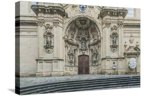 Spain, San Sebastian, Basilica of Saint Mary of the Chorus-Rob Tilley-Stretched Canvas Print