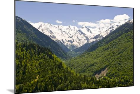 Mountain Scenery of Svanetia, Georgia-Michael Runkel-Mounted Photographic Print