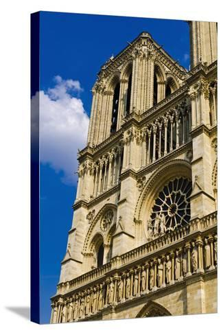 Notre Dame Cathedral, Paris, France-Russ Bishop-Stretched Canvas Print