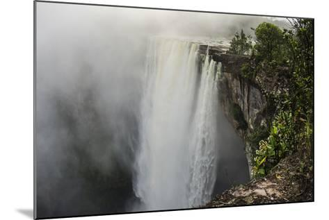 Kaieteur Falls, Located on the Potaro River in the Kaieteur National Park. Guyana-Pete Oxford-Mounted Photographic Print