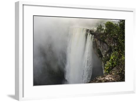 Kaieteur Falls, Located on the Potaro River in the Kaieteur National Park. Guyana-Pete Oxford-Framed Art Print