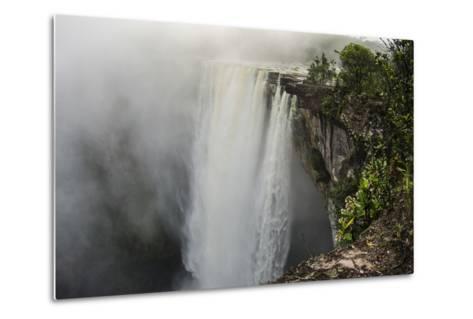 Kaieteur Falls, Located on the Potaro River in the Kaieteur National Park. Guyana-Pete Oxford-Metal Print