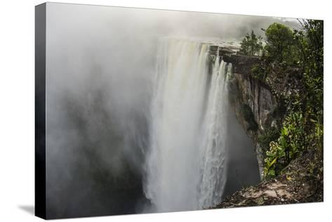 Kaieteur Falls, Located on the Potaro River in the Kaieteur National Park. Guyana-Pete Oxford-Stretched Canvas Print