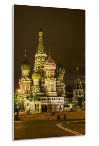 St. Basil's Cathedral. Red Square. UNESCO World Heritage Site. Moscow. Russia-Tom Norring-Metal Print