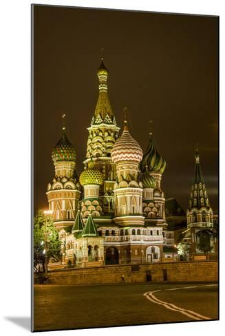 St. Basil's Cathedral. Red Square. UNESCO World Heritage Site. Moscow. Russia-Tom Norring-Mounted Photographic Print