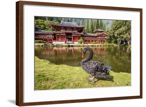 Byodo-In Temple, Valley of the Temples, Kaneohe, Oahu, Hawaii-Michael DeFreitas-Framed Art Print