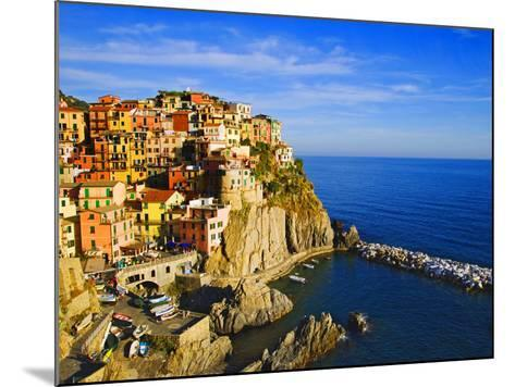 Europe, Italy, Manarola. Hillside Town Overlooking Ocean-Jaynes Gallery-Mounted Photographic Print