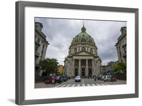 Frederik's Church, known as the Marble Church, Copenhagen, Denmark-Michael Runkel-Framed Art Print