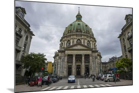 Frederik's Church, known as the Marble Church, Copenhagen, Denmark-Michael Runkel-Mounted Photographic Print