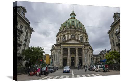 Frederik's Church, known as the Marble Church, Copenhagen, Denmark-Michael Runkel-Stretched Canvas Print