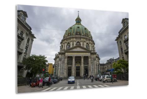 Frederik's Church, known as the Marble Church, Copenhagen, Denmark-Michael Runkel-Metal Print