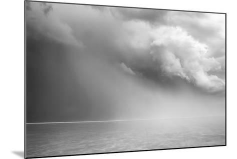 Utah. Foreboding Approaching Thunderstorm on Bonneville Salt Flats-Judith Zimmerman-Mounted Photographic Print