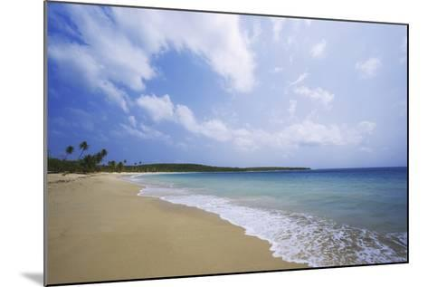 Caribbean, Puerto Rico, Vieques Island. Surf at Red Beach-Jaynes Gallery-Mounted Photographic Print