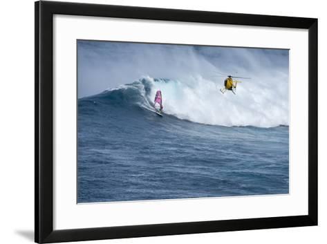 Hawaii, North Shore Maui-Janis Miglavs-Framed Art Print