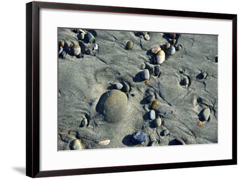 Haida Gwaii Islands, British Columbia. Beach Stones-Richard Wright-Framed Art Print