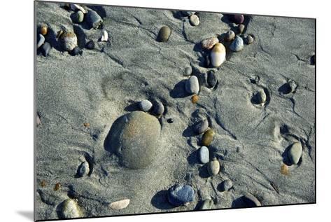 Haida Gwaii Islands, British Columbia. Beach Stones-Richard Wright-Mounted Photographic Print