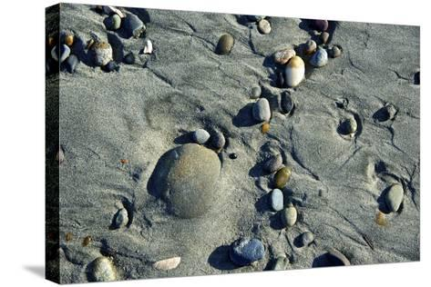 Haida Gwaii Islands, British Columbia. Beach Stones-Richard Wright-Stretched Canvas Print