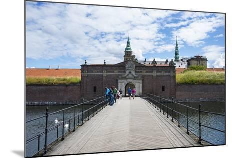 Outer Gate to UNESCO World Heritage Site Kronborg Renaissance Castle, Helsingor, Denmark-Michael Runkel-Mounted Photographic Print