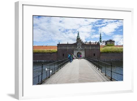 Outer Gate to UNESCO World Heritage Site Kronborg Renaissance Castle, Helsingor, Denmark-Michael Runkel-Framed Art Print