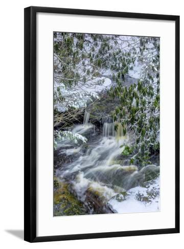 West Virginia, Blackwater Falls State Park. Blackwater River in Winter-Jaynes Gallery-Framed Art Print