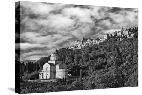 Europe, Italy, Montepulciano. Church of San Biagio at Foot of Town-Jaynes Gallery-Stretched Canvas Print