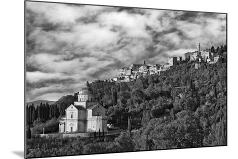 Europe, Italy, Montepulciano. Church of San Biagio at Foot of Town-Jaynes Gallery-Mounted Photographic Print