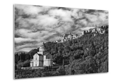 Europe, Italy, Montepulciano. Church of San Biagio at Foot of Town-Jaynes Gallery-Metal Print