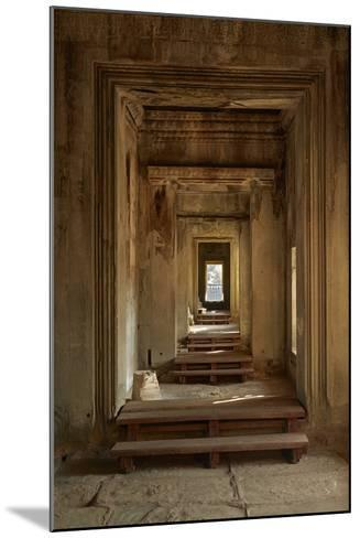 Doorways, Inner Gallery, Khmer Temple, Angkor World Heritage Site, Siem Reap, Cambodia-David Wall-Mounted Photographic Print