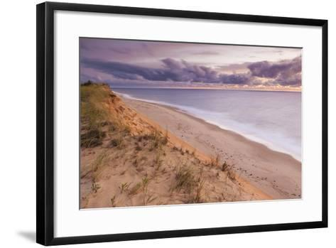 Sunrise View from the Marconi Station Site , Wellfleet, Massachusetts-Jerry and Marcy Monkman-Framed Art Print