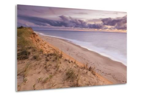 Sunrise View from the Marconi Station Site , Wellfleet, Massachusetts-Jerry and Marcy Monkman-Metal Print