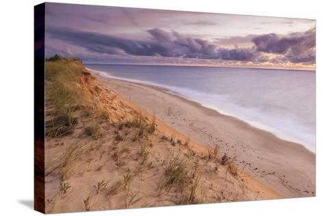 Sunrise View from the Marconi Station Site , Wellfleet, Massachusetts-Jerry and Marcy Monkman-Stretched Canvas Print