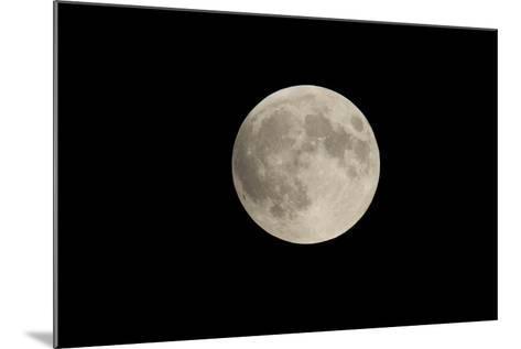 Minnesota, Mendota Heights, Moon before Eclipse, to Blood Moon-Bernard Friel-Mounted Photographic Print